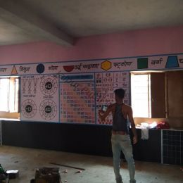 Play School Cartoon Work at Bassi Rajasthan