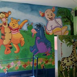 Play School Cartoon Work at Vidyadhar Nagar Jaipur Rajasthan
